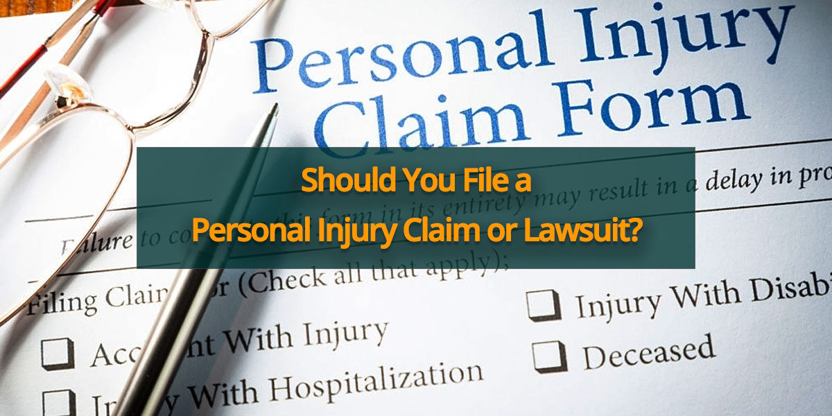Personal Injury Claim or Lawsuit