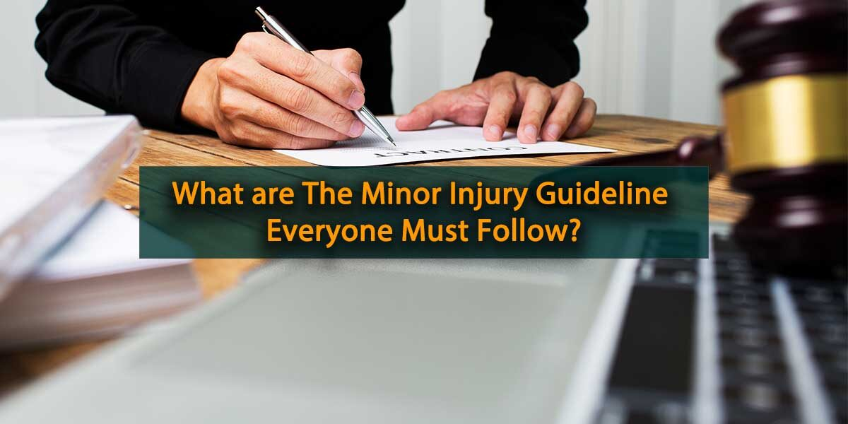 Minor Injury Guideline