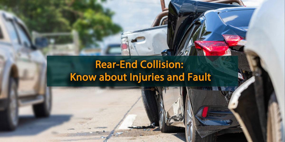 Rear end collision in canada